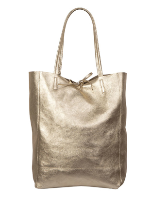 Afbeeldingen van GOLDEN LEATHER SHOPPER