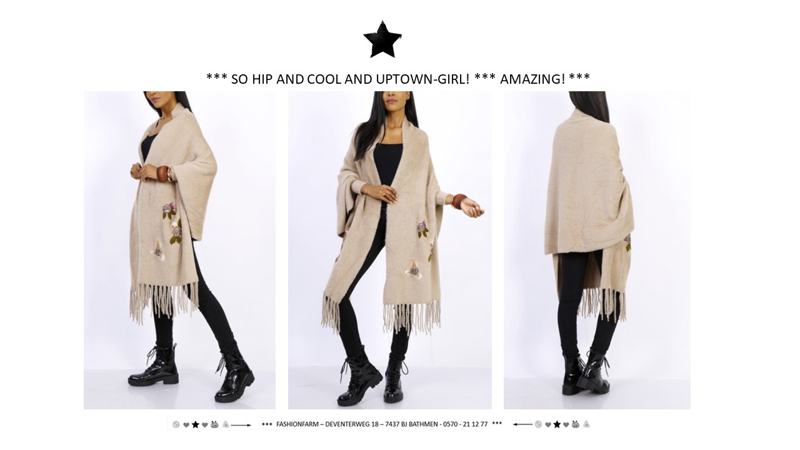 *** SO HIP AND COOL AND UPTOWN GIRL! ***