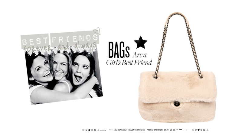 *** BAGS ARE A GIRL'S BEST FRIEND ***