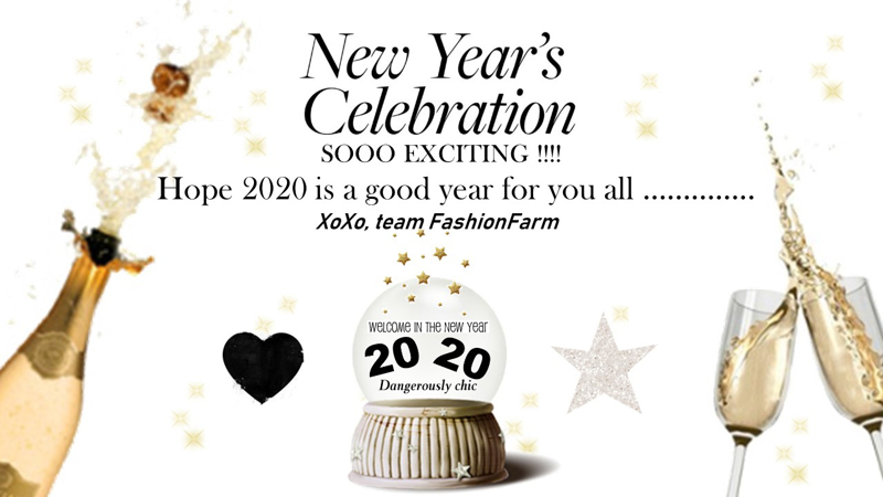 *** NEW YEAR'S CELEBRATION !! SOOOO EXCITING !! ***