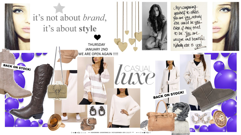 *** IT'S NOT ABOUT BRAND, IT'S ABOUT STYLE ***