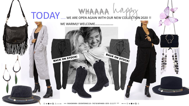 *** WE ARE OPEN AGAIN WITH OUR NEW COLLECTION 2020 !! ***