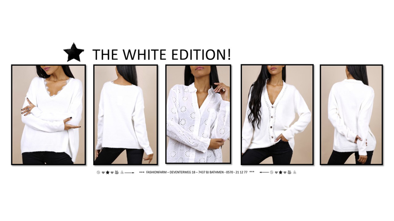 *** THE WHITE EDITION! ***