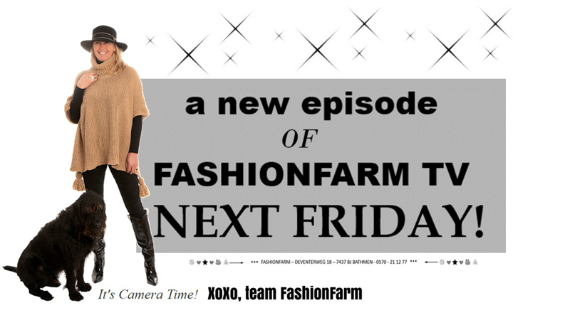 *** A NEW EPISODE OF FASHIONFARM TV THIS FRIDAY! ***