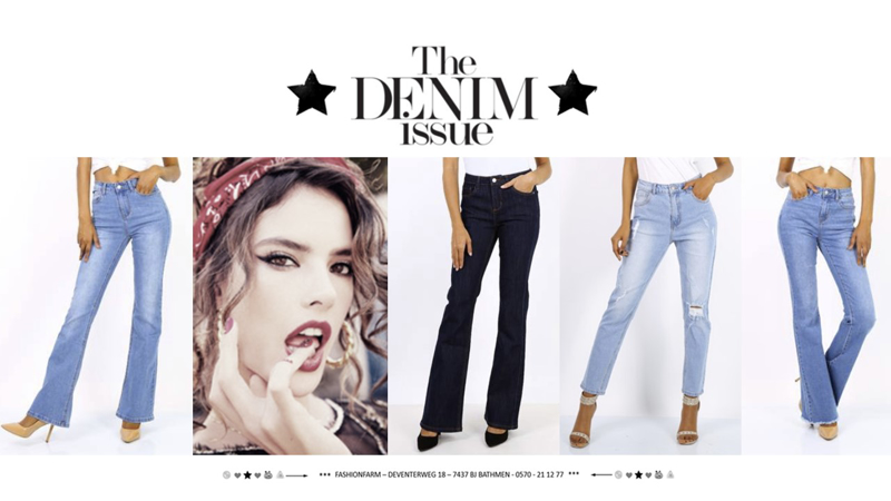 *** THE DENIM ISSUE ***