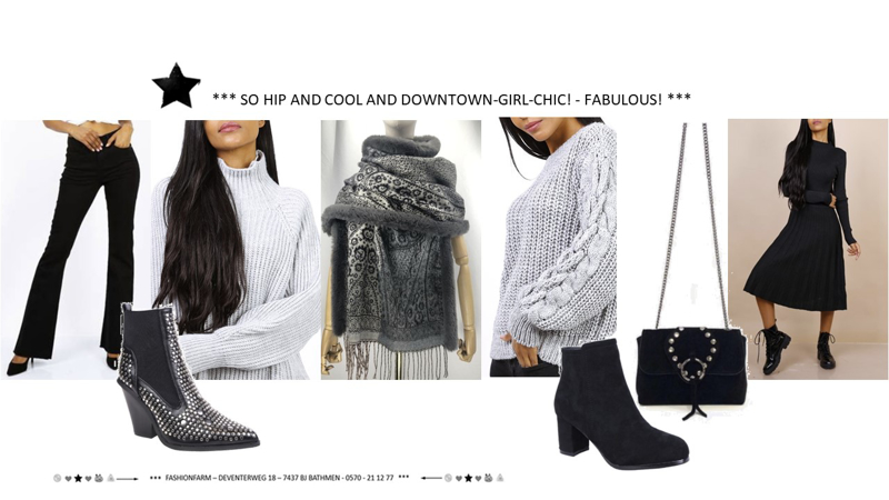 *** SO HIP AND COOL AND DOWNTOWN-GIRL-CHIC! - FABULOUS! ***