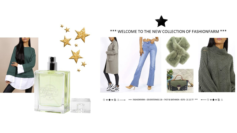 *** WELCOME TO THE NEW COLLECTION OF FASHIONFARM ***