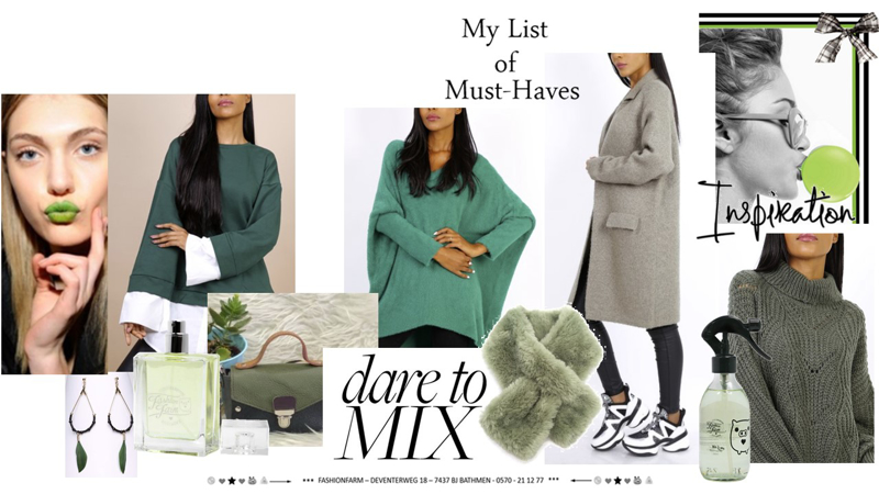 *** MY LIST OF MUST-HAVE ***