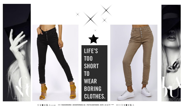*** LIFE'S TOO SHORT TO WEAR BORING CLOTHES ***