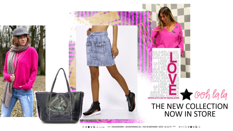 *** OOH LA LA !! THE NEW COLLECTION NOW IN STORE ***