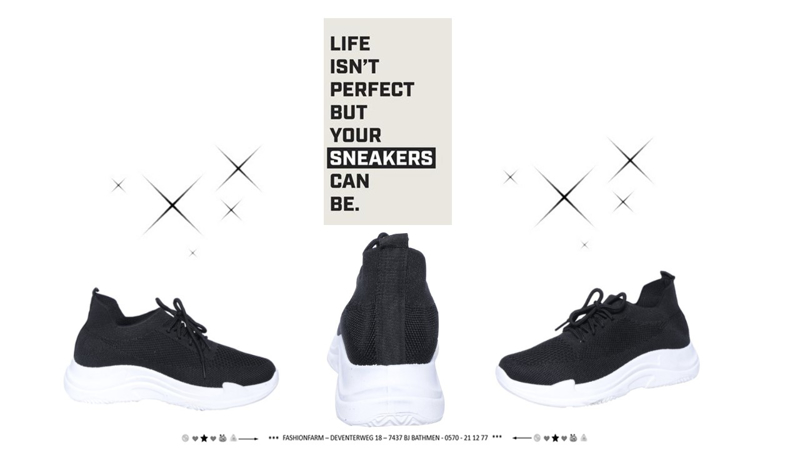 *** LIFE ISN'T PERFECT BUT YOUR SNEAKERS CAN BE. ***
