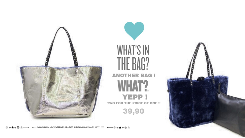 *** WHAT'S IN THE BAG? ***
