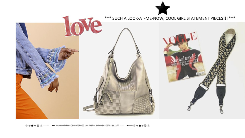 *** SUCH A LOOK-AT-ME-NOW, COOL GIRL STATEMENT PIECES!! ***