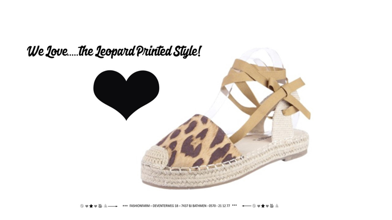 *** WE LOVE ... THE LEOPARD PRINTED STYLE! ***