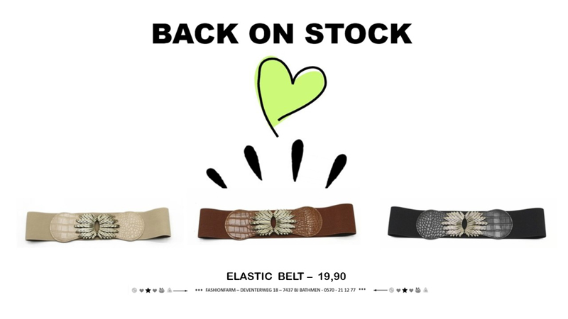 *** BACK ON STOCK! ***
