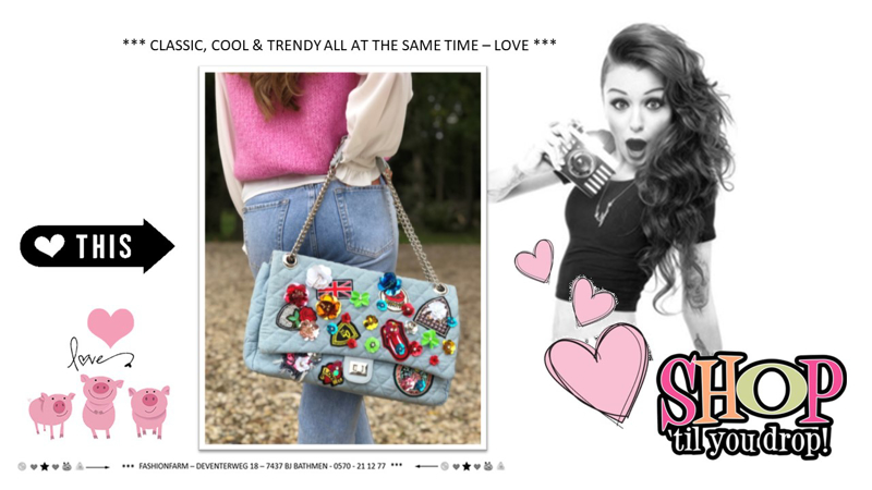 *** CLASSIC, COOL & TRENDY ALL AT THE SAME TIME - LOVE ***