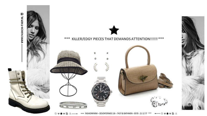 *** KILLER/EDGY PIECES THAT DEMANDS ATTENTION!!! ***