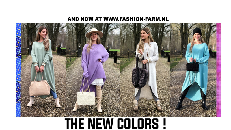 *** THE NEW COLORS! ***
