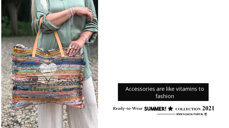 ***ACCESSORIES ARE LIKE VITAMINS TO FASHION ***